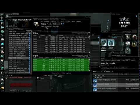 Eve Online Market & Industry Tutorial - Part 5/5 - Contracts; Buy Orders