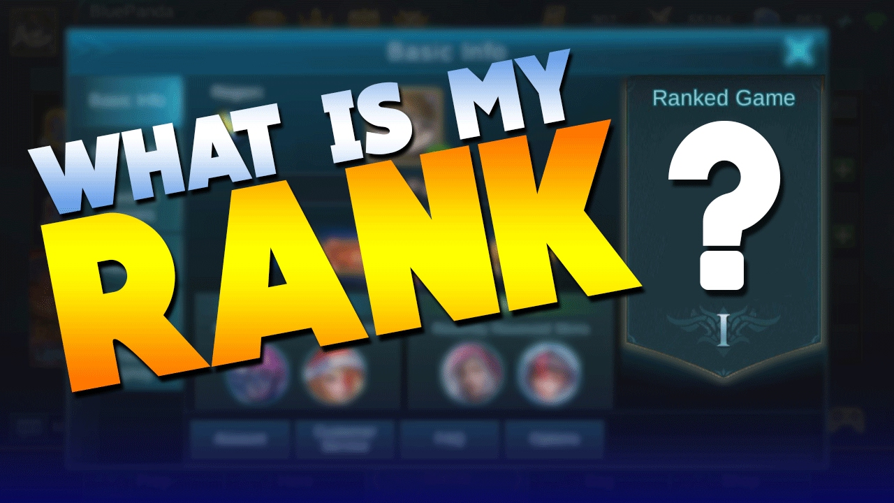 Mobile Legends What Rank Am I? + Update