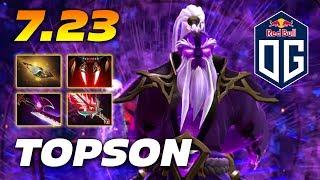 TOPSON VOID SPIRIT - Dota 2 Pro Gameplay 7.23 Patch