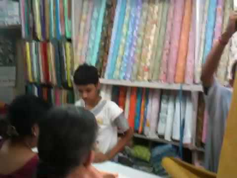 Fabric Shop in Lucknow India (20090630tu1300)