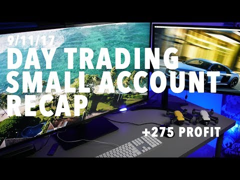 9/11/17 Day Trading Small Account BOOM! LOTS OF ACTION!
