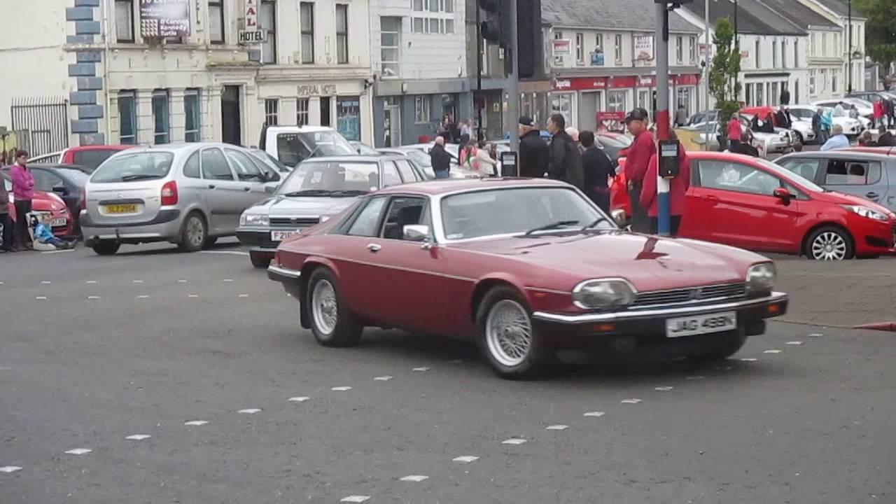 Vintage Rally (cars) Garvagh 2016 - YouTube
