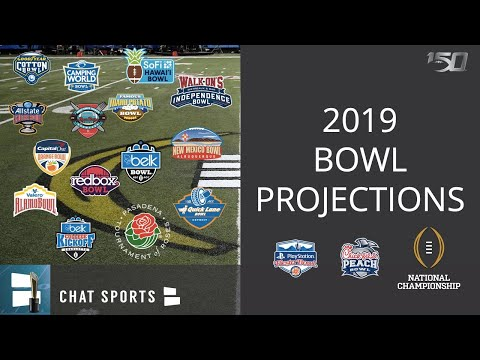Projected Bowl Games 2020.Cfp Rankings 2nd College Football Playoff Rankings For