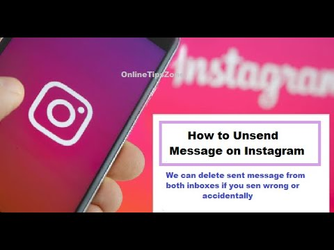 How to Unsend messages on Instagram