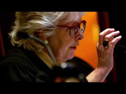 Margaret Marshall receives the Massachusetts Governor's Award