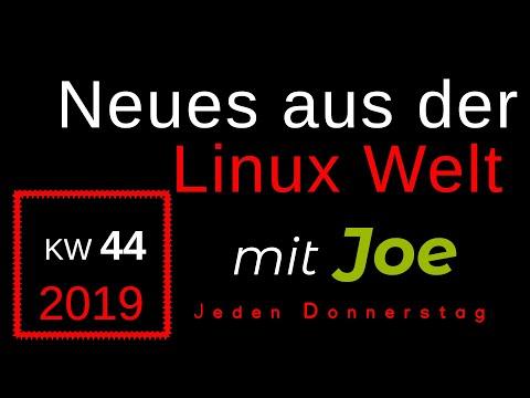 💻 Neues aus der Linux Welt - Mit Joe - KW 44 - Linux News Deutsch 💻