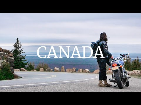 3,000 Miles Solo On A Triumph Bonneville From NYC To Canada - Motorcycle Adventure