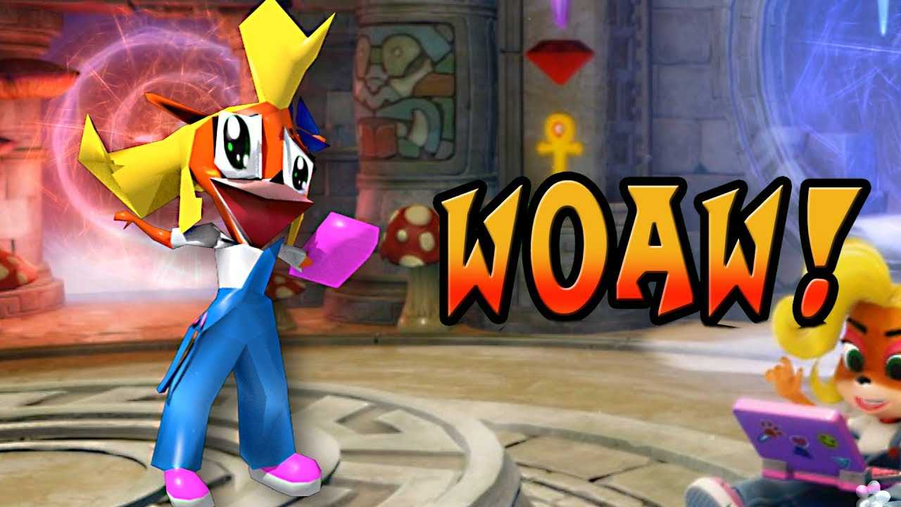 Woaw Coco Bandicoot On Drugs Parody Of Crash Bandicoot