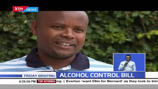 Alcohol control bill: The Bill seeks to increase the minimum bottle size from 250ml to 750ml