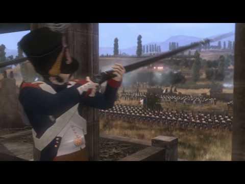 Official SEGA Napoleon Total War video game Peninsular Campaign [HD] trailer