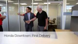 Honda Downtown First Delivery