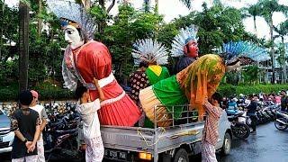 Ondel ondel Turun dari MOBIL Parade Benyamin Biang Kerok