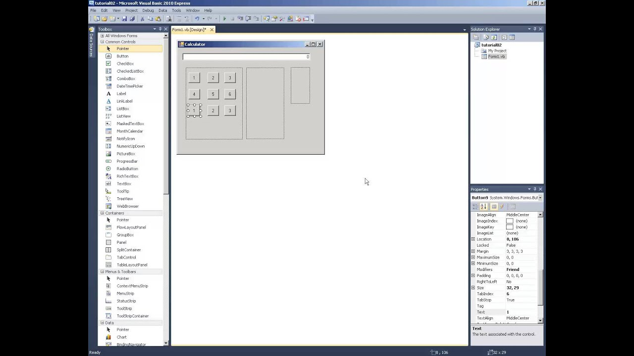 gui programming in visual basic pdf