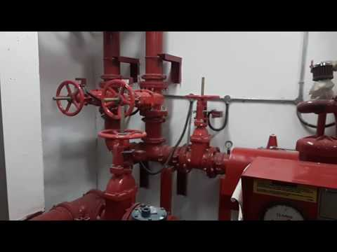 Fire Fighting Pump Connection Details & Its Working.