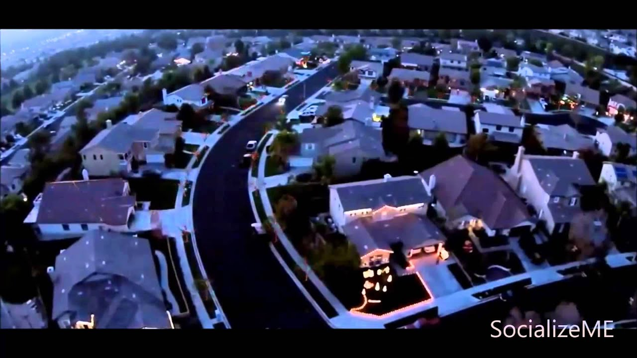 Best Neighborhood Synchronized Christmas Lights Show With Music In Yucaipa  California   SocializeME   YouTube