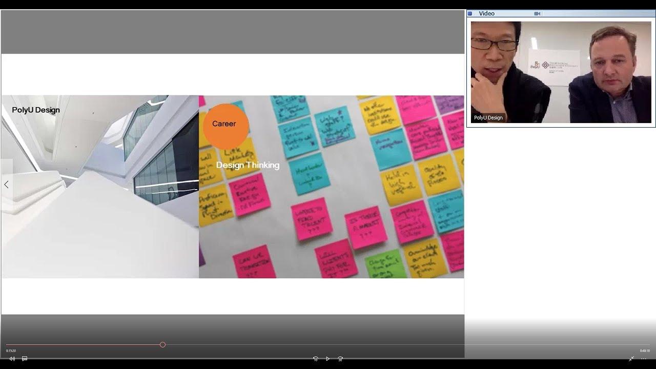 Webinar on design led innovation international design for International design company