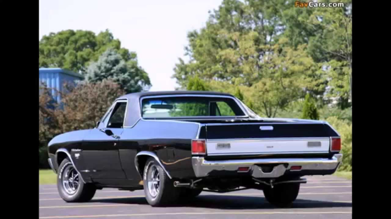 Chevrolet El Camino 1970   YouTube