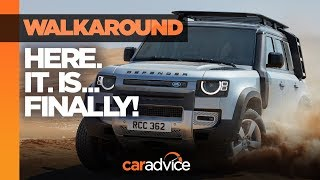 NEW Land Rover Defender revealed! Watch our walkaround review | CarAdvice