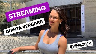 STREAMING DESDE LA QUINTA VERGARA / FESTIVAL DE VIÑA