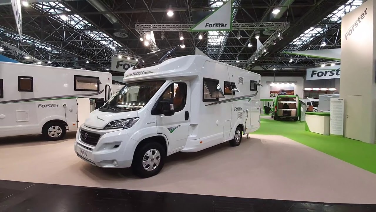 Download Motorhome with my favourite layout - widthwise rear bed : Forster 699HB