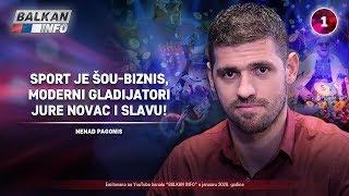 INTERVJU: Nenad Pagonis - Sport je šou-biznis, moderni gladijatori jure novac i slavu! (1.1.2020)