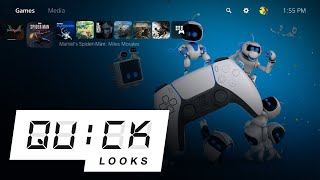 The PlayStation 5 User Experience: Quick Look (Video Game Video Review)