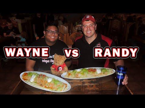Grande Mexican Burrito Challenge In Wilmington, North Carolina!!