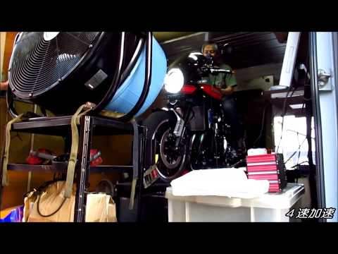 Tuned Z900RS Power Check & Full Speed Attack