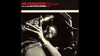 Joe Henderson 1978 - Invitation