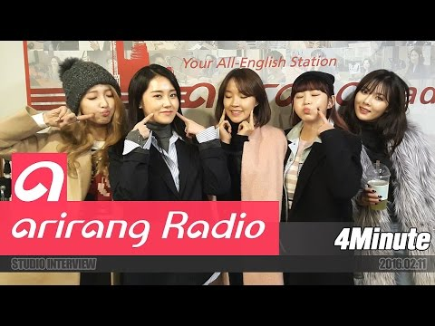 [Sound K] 포미닛 (4Minute) Interview 1