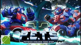 P.E.T.S: Physics Evolved Tank Star