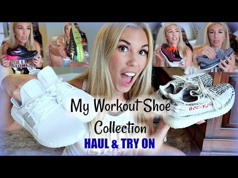 my-workout-shoe-collection-haul-review-&-try-on