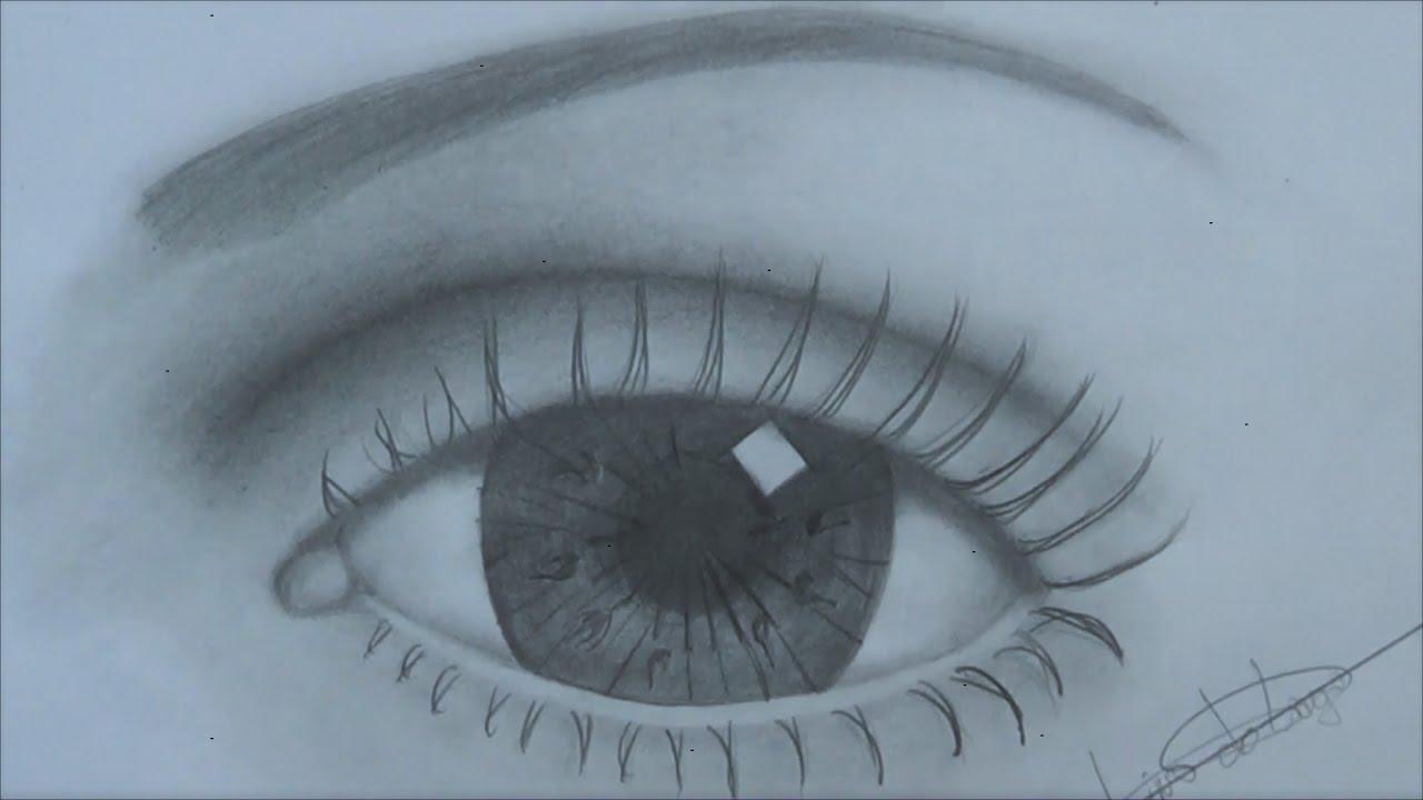 Como Desenhar Olho Básico Passo A Passo Para Completos Iniciantes