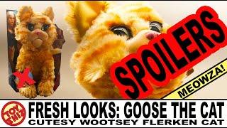 Toy Shiz FRESH LOOKS: SPOILERS! Goose the Cat (the Cutesy Wootsey Flerken Cat of Death)