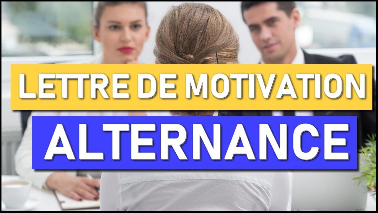 Comment Faire Une Bonne Lettre De Motivation Alternance Bts Muc