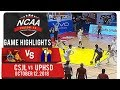 NCAA 94 MB: UPHSD vs. CSJL | Game Highlights | October 12, 2018