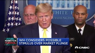 White House Could Offer Fiscal Stimulus Plan Tomorrow