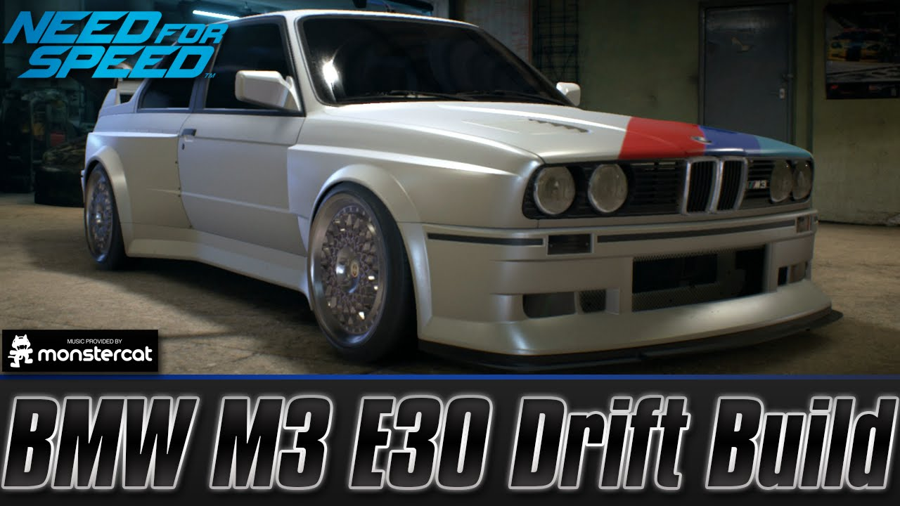 Need For Speed 2015 Bmw M3 E30 Drift Build Youtube