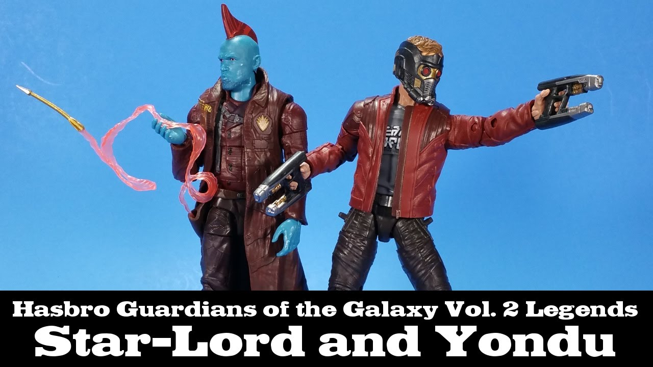 MARVEL Legends YONDU /& STAR-LORD 2 Pack Figures Guardians of the Galaxy 2 NEW