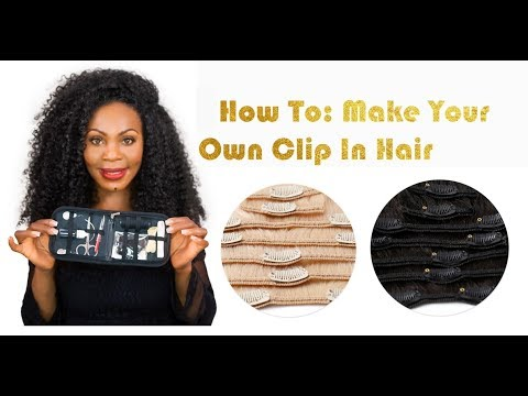 Diy how to make your own clip in hair extensions onyc hair diy how to make your own clip in hair extensions onyc hair tutorial pmusecretfo Choice Image