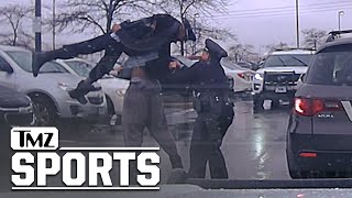 College Football Player Bodyslams Cop During Arrest, Insane Police Video | TMZ Sports