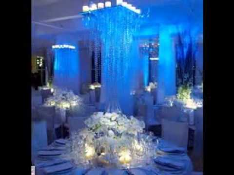 Easy Winter Wonderland Wedding Decorations Youtube