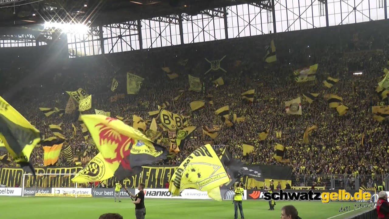 40 Jahre Westfalenstadion BVB - Wolfsburg Vor dem Spiel Dortmund