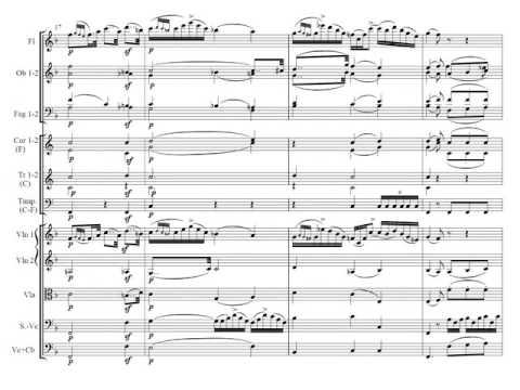 J. Haydn: Sinfonía nº 102 en Si bemol mayor Partitura y Audición