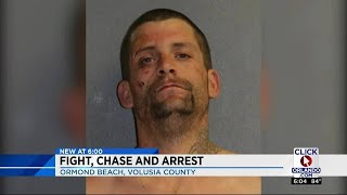 Walmart fight ends in muddy arrest