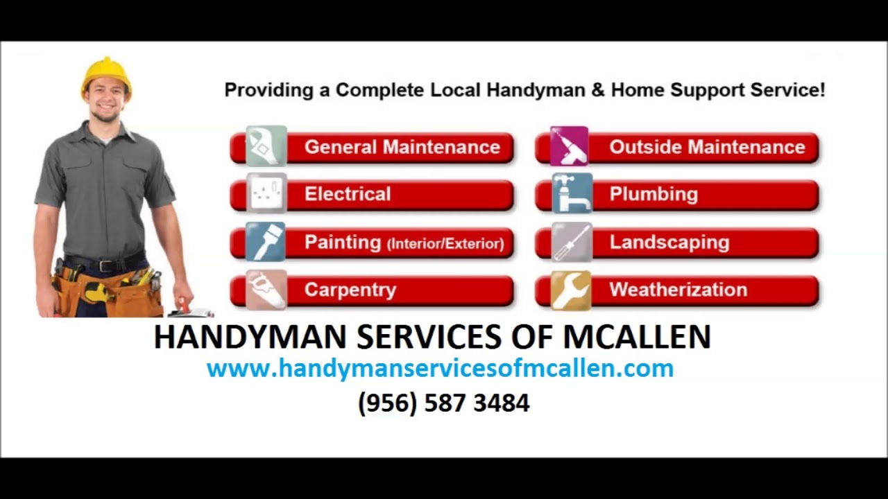 Service Area   Handyman Services of McAllen  www handymanservicesofmcallen com