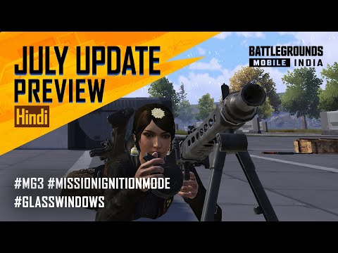 [HINDI] JULY Update Patch Notes Preview - BATTLEGROUNDS MOBILE INDIA