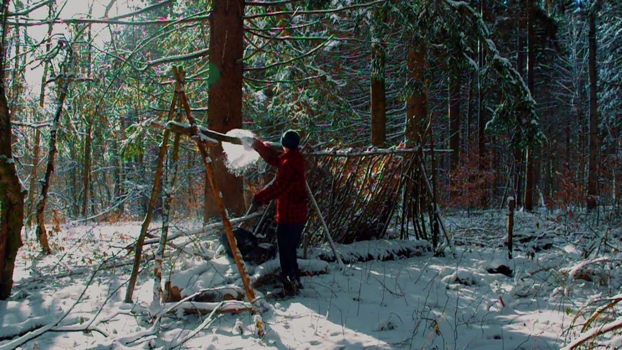 bushcraft build off episode 1