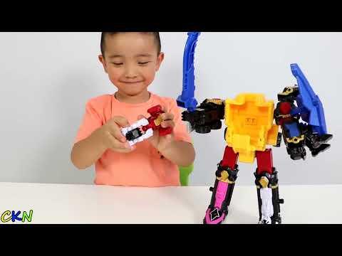 power-rangers-dx-ninja-steel-megazord-toys-unboxing-fun-with-ckn-toys