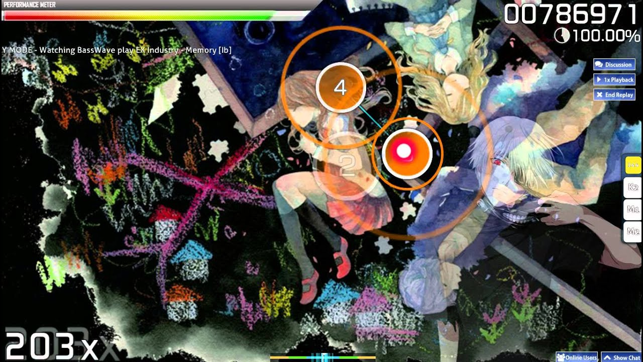 [Osu!]Easy beatmap to practice jumps